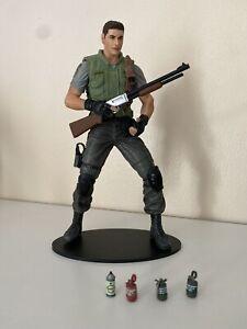 "Resident Evil Chris Redfield NECA 10th  Anniversary Figure 7"" Inch 2006"