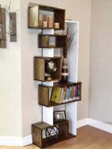 Freestanding Bookshelf. Unique design