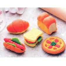 5 pieces Iwako erasers - Bakery (Color May Vary) S-3566 AU