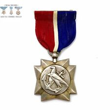 wwii us merchant marine mariners medal type 1 pm purple heart sterling silver