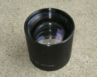 Vtg JML Optical 163mm F5.0 .67x Industrial Barrel Lens High Quality ROCHESTER NY