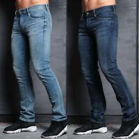Simply Jeans Mens Designer Slim Fit Stretch Branded Fashion Vintage Denim Jeans