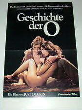 Udo Kier GESCHICHTE DER O  original Kino Plakat A3