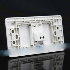 Wall Socket One Port Socket RJ11 Voice Telephone Port Socket Panel 120mmx70mm