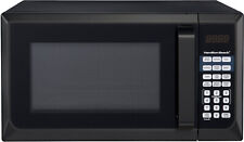 New Hamilton Beach 900W 0.9 Cu. Ft. Counter-Top Black Microwave Oven