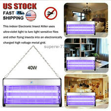 40W Electric Mosquito Killer Uv Bug Zapper Flying Insect Killer Pest Control