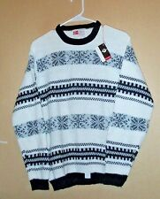 New old stock with tags >1950's Revere Olav Andersen orlon snowflake sweater-M