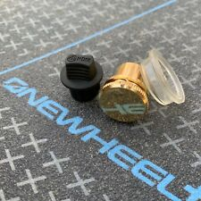 3 Pack - OneWheel Gold Metal Charge Port Power Button Cover Cap Plus Xr New