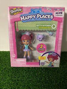 Shopkins Happy Places KITTY KITCHEN - Lil' Shoppie Doll Pack - Tippy Teapot