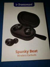 A1~OPEN BOX~Tronsmart Spunky Beat TWS earbuds earphone headphone~BLACK