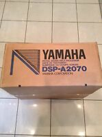 Yamaha DSP-A2070 Amplifier Digital New Boxed Sealed Very Rare NOS Discontinued