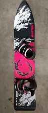 VINTAGE 80's BLACKSNOW SNOWBOARD MASTER 135 cm Old School Backhill Sled Rare
