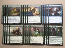 MTG Blue Green Midrange Magic Deck Standard Pack Guardian Reckless Scholar D17