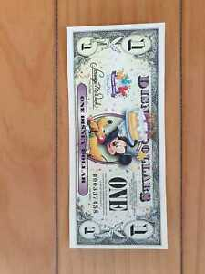 2009 Disney Dollar - Mickey and Pluto - D Series Mint Uncirculated