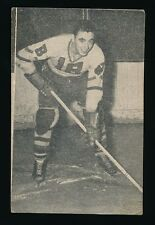 1952-53 St Lawrence Sales (QSHL) #25 JACQUES DESLAURIER (Valleyfield) -Canadiens