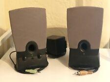 Harman Kardon HK19.5 Computer Speakers-Tested, Working, Very good sound!