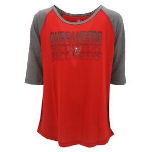 Tampa Bay Buccaneers Official NFL Apparel Kids Youth Girls Size Shirt New Tags