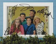 The Real O'Neals In-Person AUTHENTIC Autographed Cast Photo COA SHA #49841