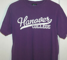 Vtg HANOVER COLLEGE T Shirt RARE Indiana University SCRIPT LOGO Tee M/Small