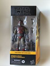 "Star Wars The Black Series Mandalorian Super Commando 6"" Action Figure NEW"