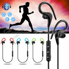 4.1 Bluetooth Wireless Sports Headset Headphone Earphones Mic For iPhone 7 Plus