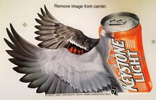 Keystone Light Beer Signs Window Clings Decals Stickers Hunting Theme - Bird