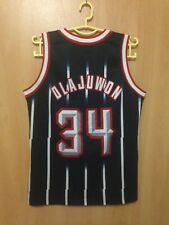 NBA HOUSTON ROCKETS BASKETBALL SHIRT JERSEY CHAMPION HAKEEM OLAJUWON #34