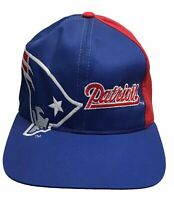 Vintage New England Patriots Snapback Hat Team NFL Eastern