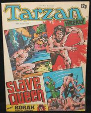 Tarzan Weekly UK Comic - Slave Queen - (Grades 8.0) 8/13/1977