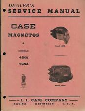 CASE TRACTORS MAGNETOS SERVICE MANUAL VINTAGE AND NICE