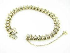 Pulseras de joyería de oro amarillo de 14 quilates