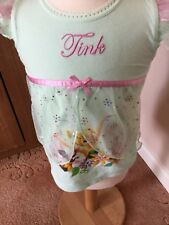Girls Green Disney Tinkerbell Top Age 2 (92 cms) New