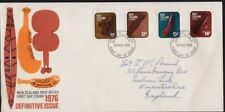 NEW ZEALAND 1976 Definitive Issue FDC addressed @D4995L