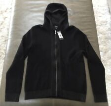 NWT Strellson Mens Silence Cotton Wool Heavy Hoodie Jacket Medium Large $258