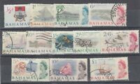 Bahamas QEII 1965 Set To £1 (No 1 1/2d) SG247/261 Fine Used JK2110