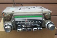 1967 Volvo AM FM Radio Bendix Model 7FBO 12 Volt P1800 122 Like VW Sapphire VI