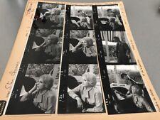 MICHELINE PRESLES  «LES SAINTES CHÉRIES» : PLANCHE CONTACT ORIGINALE DE 1965