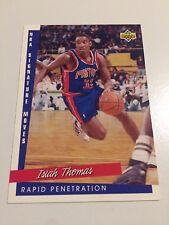 1993 Upper Deck NBA Signature Moves Basketball Card #245 Isiah Thomas