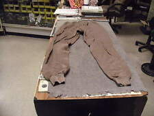 US Military Issue Cold Weather  Drawers , Polypro, Brown, Size  Large, Midweight