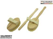 Holz Badebürste Massagebürste Rückenbürste Reinigungsbürste Saunabürste Bürste