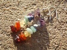 Orecchini di bigiotteria multicolore gancetti