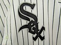 Vintage 90's Russell Athletics Men's XXL Chicago White Sox Pin Stripe Jersey