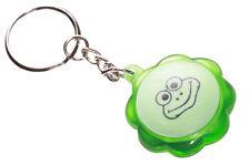 Divertido, peculiar & juguetón-centro de botón de prensa de Rana Verde/Luz Llavero (Zx1/219)
