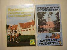 Radwandern und Erlebniswandern 2 Bücher