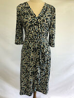 Leona Edmiston Blue Floral Dress Size 12