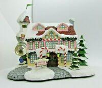 NEW Hawthorne Village Rudolph's Christmas Town SANTA'S TOY WORKSHOP
