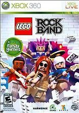 LEGO Rock Band (Microsoft Xbox 360, 2009) Complete, Tested, GUARANTEED