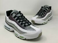 Nike Air Max 95 LV8 White Black Blue Gaze AO2450-100 New Men's Shoes Size 10.5