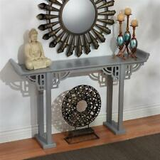 Grey: Contemporary Asian 17th Century Ming Style Console Sideboard Sofa Table