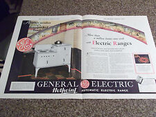 1932 General Electric Hotpoint Automatic Electric Range 2 Page Advertisement